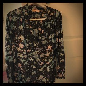 Long Sleeve Rebecca Taylor Floral